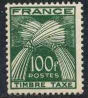 FRANCE - GERBE / TIMBRE TAXE # 89 ** / A - 1/4 DE LA COTE (ref T1939) - Taxes