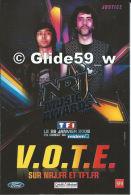 NRJ Music Awards 2008 - TF1 Le 26 Janvier 2008 - Justice - Cantanti E Musicisti