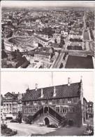68 MULHOUSE - 2 Cpsm Hôtel De Ville Et Le Bâtiment Circulaire - Mulhouse
