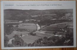 Belgique - Stoumont - Vue Panoramique Sur L'Amblève Vers Le Vieux Château Et Le Vaulx Renard - (n°3623) - Stoumont