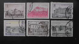 Turkey - 1963 - Mi:1855-7,1866,1890,1897 O - Look Scan - 1921-... République