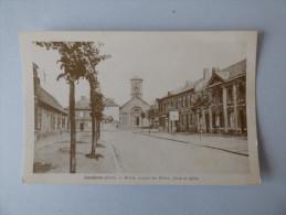 Lambres       Mairie    -   Avenue Des Poilus  -   Place Et église - France