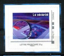 """La Sécurité .  Adhésif Neuf ** . Collector  """" L' IMPRIMERIE DES TIMBRES DE LA POSTE  """" - France"""