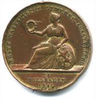 ERSTE NASSAUISCHE GEWERBE AUSSTELLUNG WIESBADEN 1846 - Professionnels/De Société