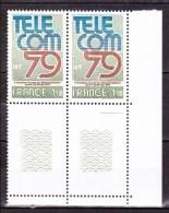 N° 2055 3ème Exposition Mondiale Des Télécommunications TELECOM 79 Genève: Une Paire De 2  Timbres - Nuovi