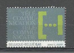 Belgique - België - COB - OBP - 3113 ** MNH - Télécommunication - België