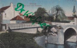 Dixmude, Provisorische Brücke über Den Handzame-Kanal, Um 1916 - Ponts