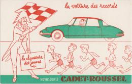NOVOSOUPLE - CADET-ROUSSEL - Buvards, Protège-cahiers Illustrés