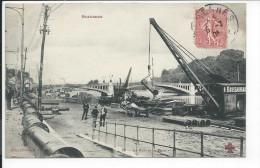 Suresnes (Hauts De Seine 92) CPA Le Port Et Le Pont (Collection F. Fleury CCCC 17) - Suresnes