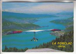 VOL A VOILE - AILES DELTA : Le Départ Des Delta Plane Au Col De La Forclaz 74 - Haute Savoie - Cartoline