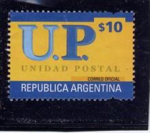 ARGENTINA, 2002, SCOTT 2224A, UNIDAD POSTAL  USED - Argentine