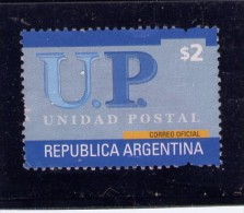 ARGENTINA, 2002, SCOTT 2222, UNIDAD POSTAL Stamp  USED - Argentine