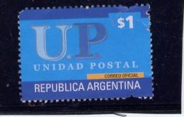 ARGENTINA, 2002, SCOTT 2221, UNIDAD POSTAL Stamp  USED - Argentine