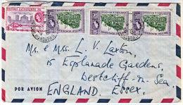 B0405  BRITISH HONDURAS 1965, Cover To England - Honduras Britannique (...-1970)