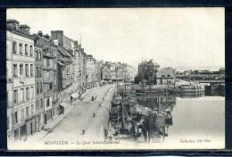 CPA . HONFLEUR . Le Quai Sainte Catherine . Voir Recto Verso   (T203) - Honfleur