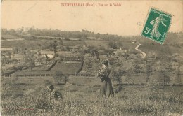 27 - Touffreville - Vue Sur La Vallée - Eure - Voir Scans - France