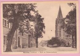 612 - MEEUWEN - KERK En GEMEENTEPLAATS - Centra Winkel - Meeuwen-Gruitrode