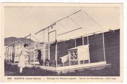 966.  MEGEVE  (Haute-Savoie)  -  Elevage  Du  Renard  Argenté  -  Ranch  De   Rochebrune  -  Une  Cage - Megève