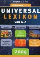 Wissen Im Blick Foto Karten Schema Antiquarisch 18€ Großes Universal-Lexikon 2004 Mit Register A-Z Big Lexika Of Germany - Brockhaus