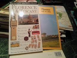 Cartina E Guida Firenze E Toscana-Map And Guide Florence And Tuscany-Carte Et Guide De Florence Et La Toscane - Europa