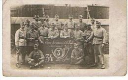 Carte Photo  Pour Les Anciens De La Ruhr Dortmund 1923  Ecrit Sur La Carte Souvenir De L Occupation De La Rhur - Regimente