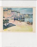 Albert Marquet - Barques De Pêche à Collioure- Ref 1502-022 - Peintures & Tableaux