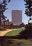 Bruxelles - Jardin Botanique Et P.s. Building - Formato Grande Viaggiata Mancante Di Affrancatura - Foreste, Parchi, Giardini