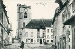 Dornecy Place De L'eglise - Autres Communes