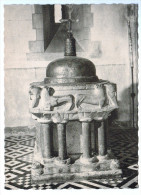 Cpm SAINT SEVERIN EN CONDROZ  , ( Village De Béthléem ) : Fonts Baptismaux 1967  ( 1740 ) - Nandrin