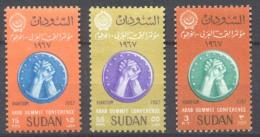 Soudan YT N°201/203 Conférence Au Sommet Des Pays Arabes Neuf/charnière * - Soudan (1954-...)
