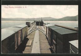 CPA Puerto Colombia, Pier, Le Portpartie - Colombia