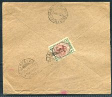 1922 Persia Sabzevar - Teheran Cover - Iran