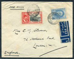 1938 Persia Teheran - London Airmail Cover - Iran