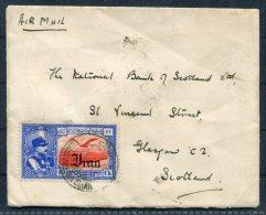 1938 Persia Masejedyod Teheran Airmail Cover - National Bank Of Scotland Glasgow - Iran