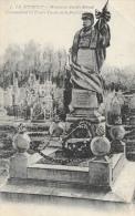 Le Bourget - Monument Amédée Roland Commandant Les Francs-Tireurs De La Presse - Carte ELD - Monuments Aux Morts