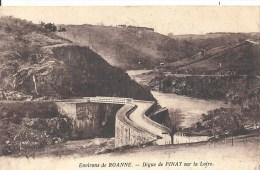 RHONE ALPES - 42 - LOIRE - PINAY Près  De ROANNE - Digue Sur La Loire - Roanne