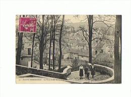 CPA 51 SAINTE MENEHOULD La Plate Forme Du Chateau - Sainte-Menehould