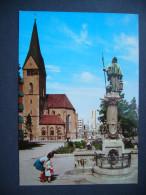 Germany: STUTTGART - Leonhardskirche Mit Nachtwächterbrunnen - Unused - Stuttgart
