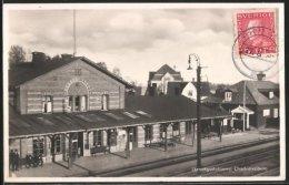 AK Charlottenberg, Järnvägsstationen, Bahnhof - Suède