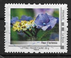 Timbre Collector Fleurs  D'hortensia - France