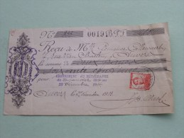 Callewaert Anvers - Pour Abonnement Au Métagraphe 1914 Met Zegel ( Zie Foto´s Voor Detail ) ! - Lettres De Change