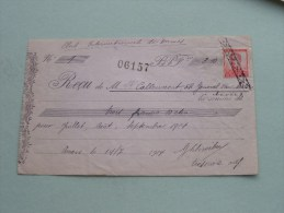Callewaert Anvers - Pour Club Int. Des Dames 1914 Met Zegel ( Zie Foto´s Voor Detail ) ! - Lettres De Change