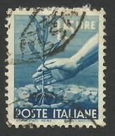 Italy, 15 L. 1946, Sc # 473A, Mi # 699, Used. - 5. 1944-46 Lieutenance & Umberto II