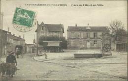 SAVONNIÈRES-en-PERTHOIS - Place De L'Hôtel-de-Ville - Autres Communes
