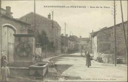 SAVONNIÈRES-en-PERTHOIS - Rue De La Gare - Autres Communes