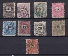 Hongarije/Hongrie/Ungarn/Hungary -  1888/1998 - Y&T Nrs 23,24,25,26,28,30,31 En 33 - Used/ Gestempeld (°) - Hongrie