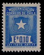 MODERNISATION 1970 - NEUF ** - YT 345A - MI 3 - Chili