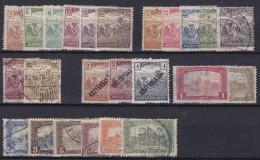 Hongarije/Hongrie/Ungarn/Hungary - 1916/1923 - LOTJE OUDERE RESTANTEN - Used/ Gestempeld (°) - Oblitérés