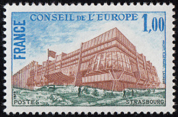 FRANCE. 1977  Neuf **MNH  '  '    Yvert  N° 54   '  '   1 F.  Bâtiment Du Conseil à Strasbourg - Neufs