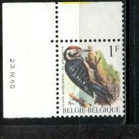 300999598 BELGIE POSTFRIS MINT NEVER HINGED POSTFRISCH EINWANDFREI OCB 2349 P5A BUZIN  VOGELS Datum 23 Iv 1990 - 1985-.. Vogels (Buzin)